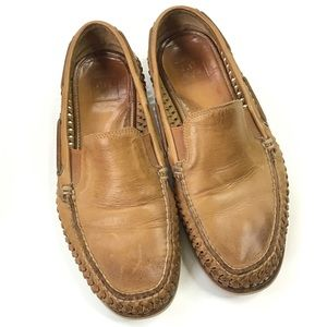 Frye Sully Woven Boat loafers